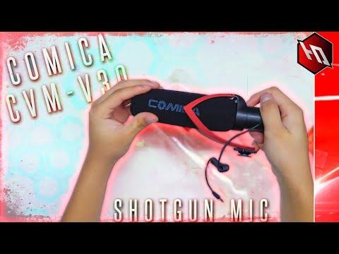 Comica CVM-V30 Shotgun Microphone (Unboxing & Sound Test)