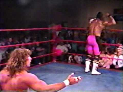 IWA Championship Wrestling - Kerry Von Erich vs Lethal Larry Cameron