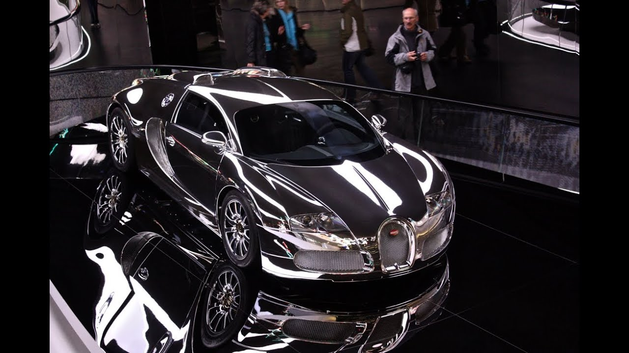 all chrome everything bugatti veyron youtube. Black Bedroom Furniture Sets. Home Design Ideas