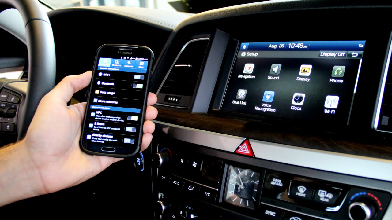 Zimbrick Hyundai East >> How To Pair Your Bluetooth Smart Phone To The 2015 Hyundai Genesis - YouTube