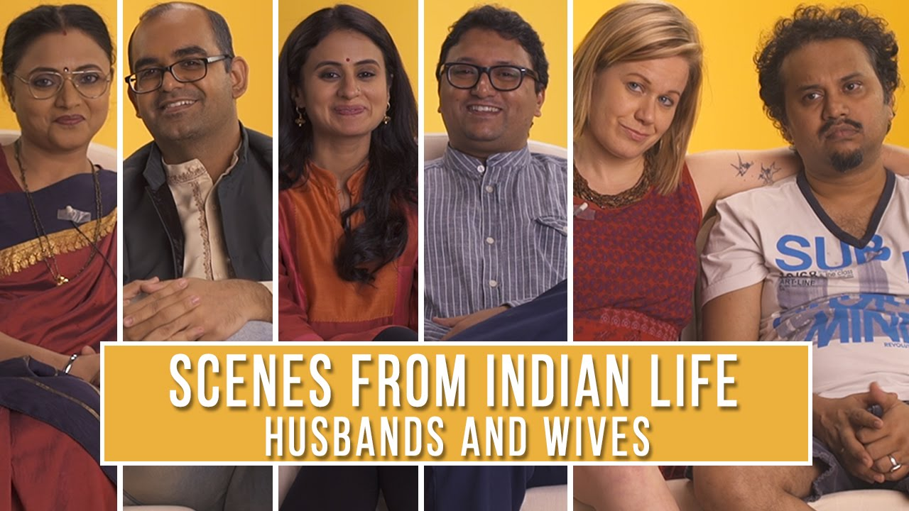 Scenes From Indian Life | Husbands and Wives #LaughterGames
