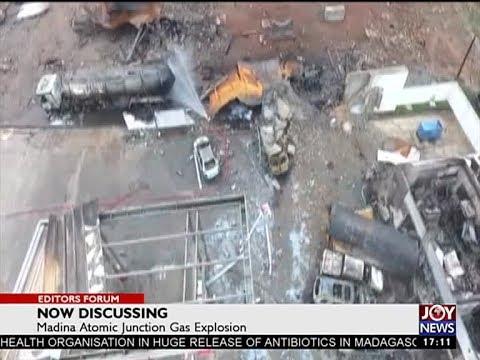 Madina Atomic Junction Gas Explosion - Editors' Forum on JoyNews (8-10-17)