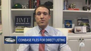 Coinbase Files To Go Public