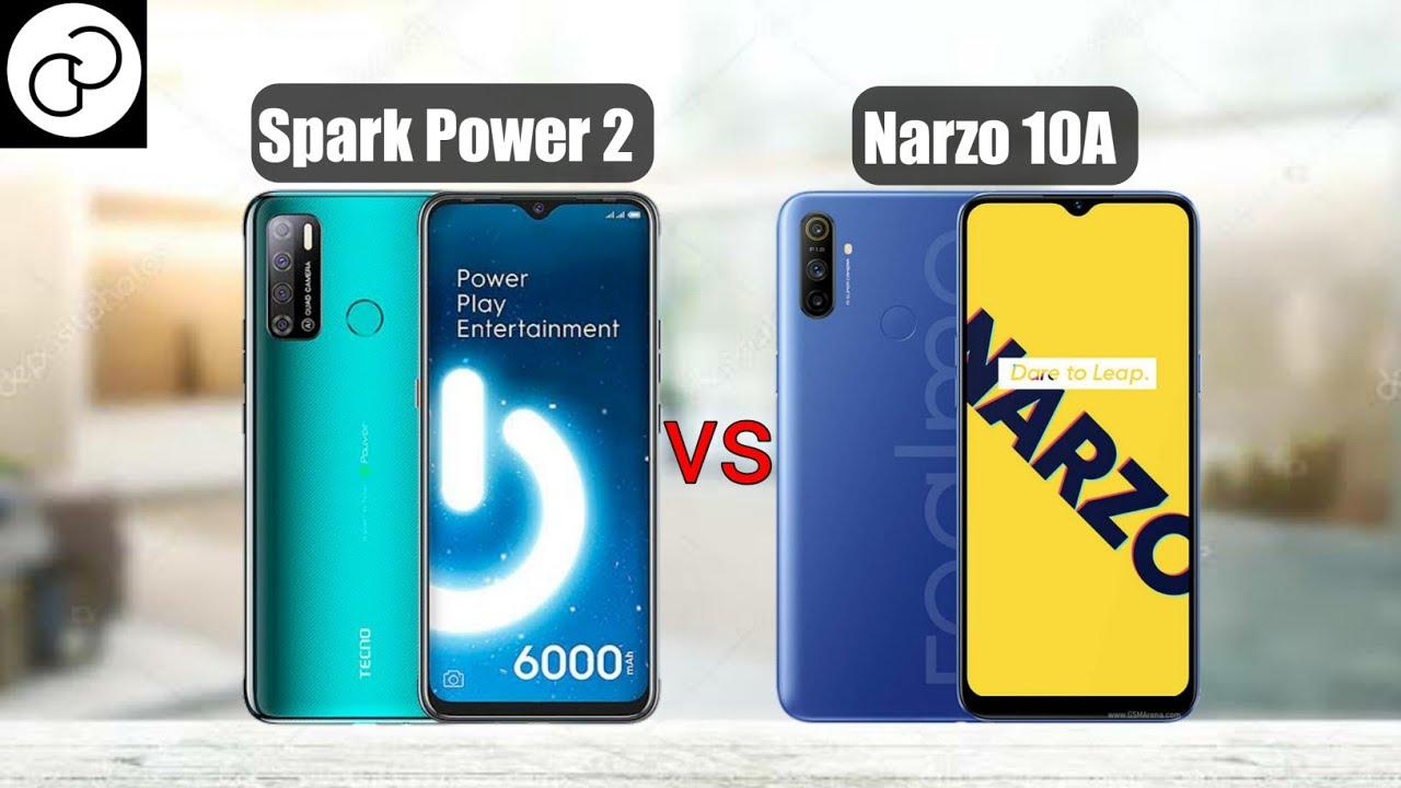 Tecno Spark Power 2 vs Realme Narzo 10A; which is better?