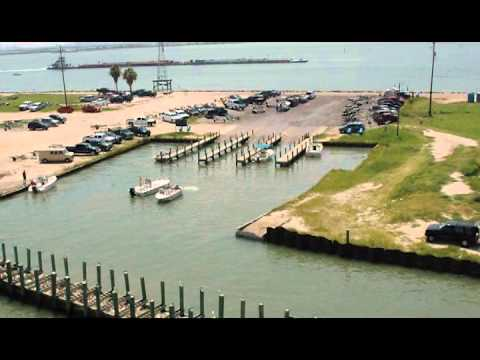 Texas city dike fishing pier youtube for Texas city dike fishing