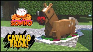 Minecraft : O Sonho! #124 - Ela comeu o cavalo fada?