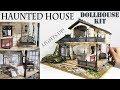 DIY Miniature Haunted House (Kit Bash)