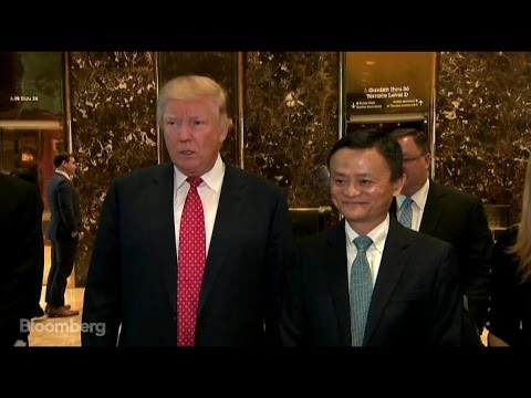 Trump: Great Meeting With Jack Ma About Jobs