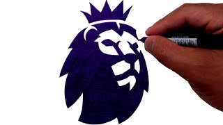 How to Draw the Premier League Logo by Hand
