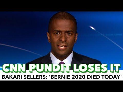 CNN Pundit Loses His Mind: 'Bernie 2020 Died Today'