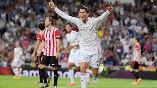 Real Madrid 5-0 Athletic de Bilbao Goles Audio Cope  05/10/14 LIGA BBVA