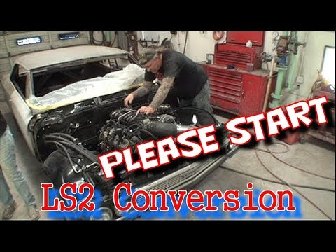 "LS2 Conversion - Getting The 66 Chevelle Running - Part 2 - It STILL WON""T RUN!"