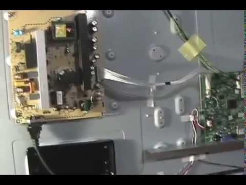 Insignia 50 inch TV dead power supply board
