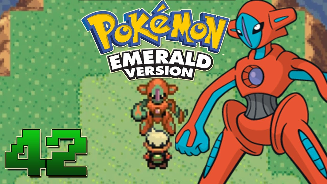 Lets play pokemon emerald part 42 deoxys event youtube lets play pokemon emerald part 42 deoxys event sciox Choice Image
