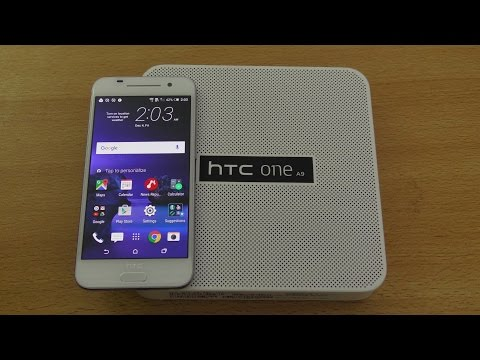 HTC One A9 32GB - Unboxing, Setup & First Look (4K)
