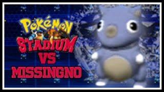 How To OHKO Missingno Glitch With Pokemon Stadium