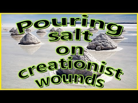 Pouring Salt On Creationist Wounds