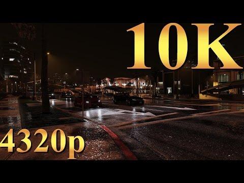 Grand Theft Auto V GTA 5 10K 4320p Gameplay Titan X Pascal 3 Way SLI 4K   5K   8K and Beyond