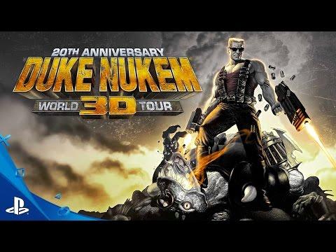 Duke Nukem 3D: 20th Anniversary World Tour - Teaser Trailer   PS4