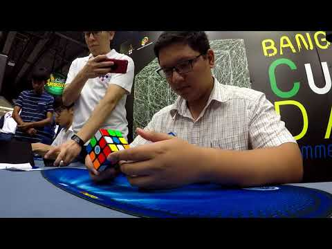 8.10 Official Rubik's Cube Average [Bangkok Cube Day Summer 2018]
