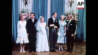 Tricia Nixon married at White House