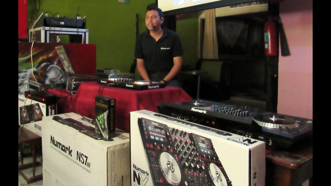 Dj David Noise, Numark NS7III by Italy Audio Ecuador