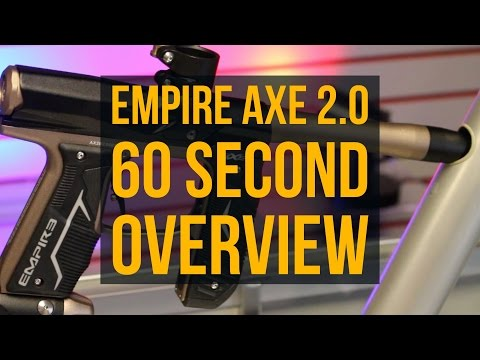 Empire AXE 2.0 60 Second Overview - Paintball Gun Review by BlackFridayPaintball.com