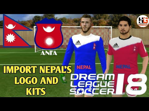 Import Team Nepal Logo Kits Create Own Player In Dls 18 Android Ios Youtube