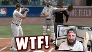 100% THE WEIRDEST WAY TO WIN A GAME! MLB The Show 17 | Battle Royale