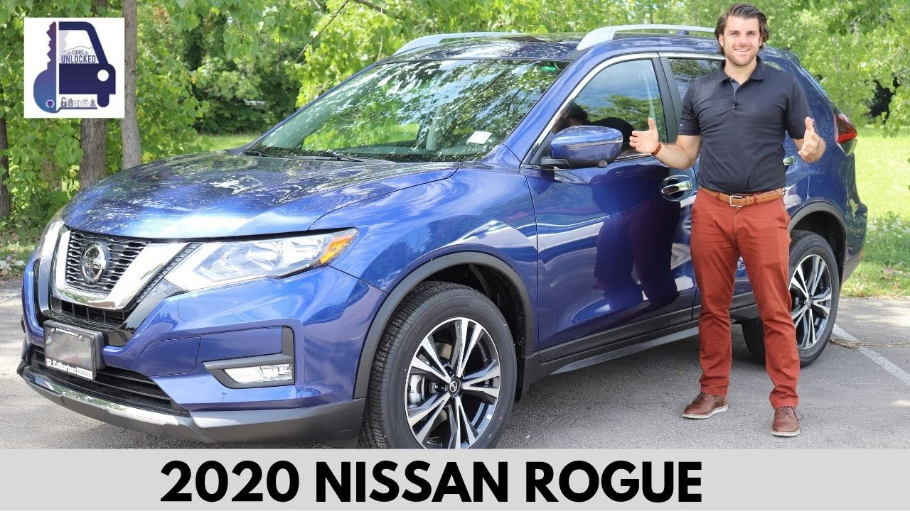 2020 Nissan Rogue Sv Awd In Depth Detailed Walk Around And Review Youtube