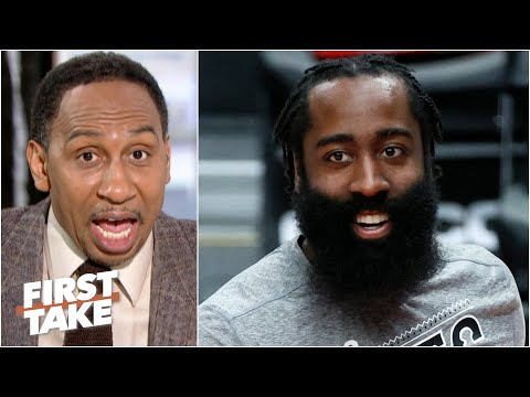 Stephen A. puts James Harden atop the NBA MVP race   First Take