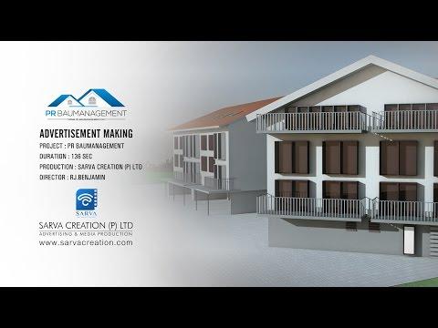 PR Baumanagement l Advertisement Making l SARVA CREATION l SWITZERLAND