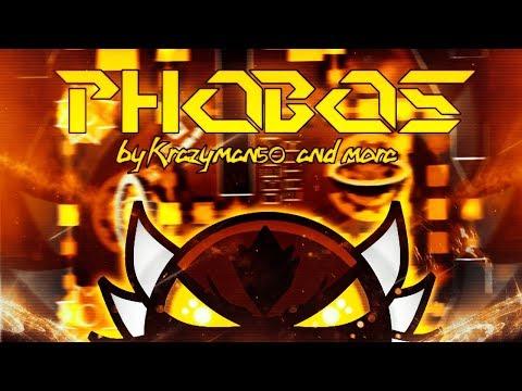 [REUPLOAD] Phobos 100% by Krazyman50 (Extreme Demon)   GD 2.0