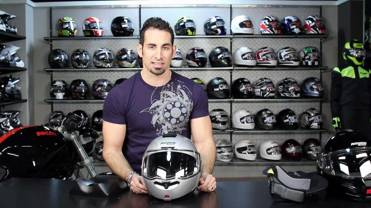 e99b6d62 Nolan N104 Helmet Review at RevZilla.com - YouTube