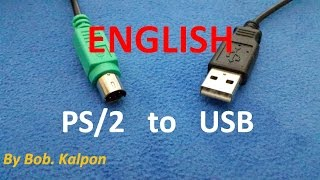 PS2 to USB how to convert a mouse PS/2