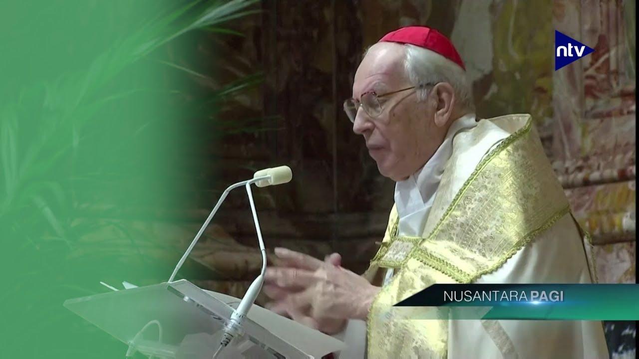 Paus Absen Dalam Misa Tahun Baru Karena Alasan Kesehatan