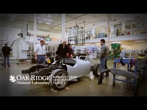 Watch Oak Ridge National Lab 3D-Print a Replica Shelby Cobra