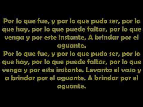 Calle 13 - El Aguante (con Letra) - MultiViral 2014