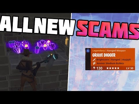 EXPOSING All NEW SCAMMING Techniques! - How To Prevent Being Scammed in Fortnite Save The World