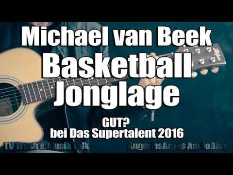Michael Van Beek - Freestyle Basketball-Jonglage GUT? Bei Das Supertalent 2016