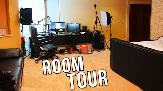 VIKKSTAR ROOM TOUR / GAMING SETUP VIDEO + GIVEAWAY
