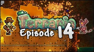 The Super LUCKY Terraria Hellevator! | Terraria Episode 14