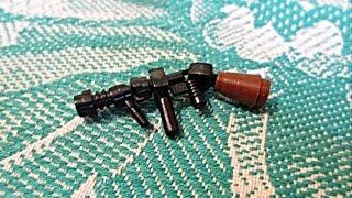 Сборка оружия Второй мировой войны 1939-1945 (Thompson M1921)Lego самоделка № 13