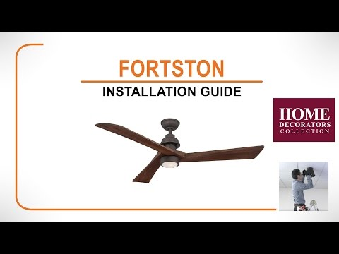 Iron Crest Ceiling Fan Installation Guide Youtube