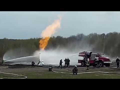 тушение газовой скважины