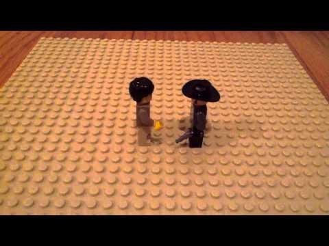 Legend of Big Iron Lego Style