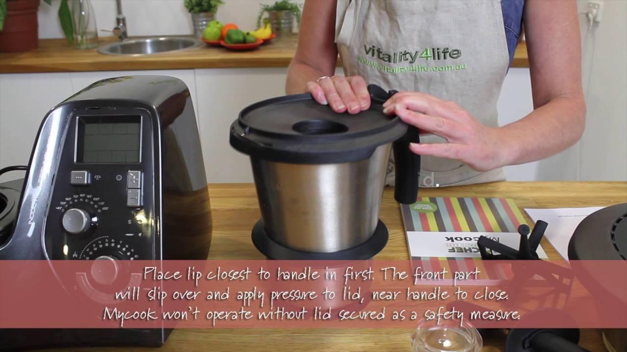 BioChef Mycook All In One Kitchen Appliance   How It Works And Sauerkraut  Recipe
