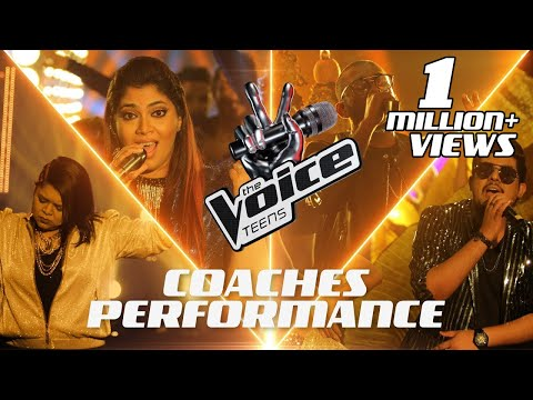 The Coaches Performance   Special Mashup   The Voice Teens Sri Lanka