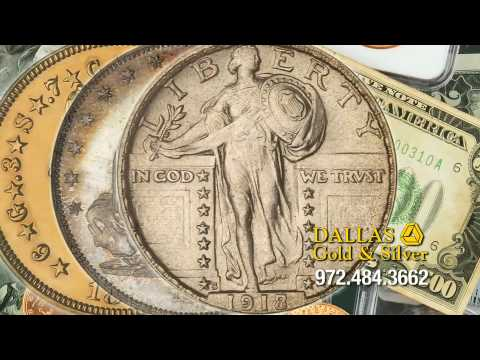 Dallas Gold and Silver Exchange Commercial with Mark Davis - Rare Coins and Currency