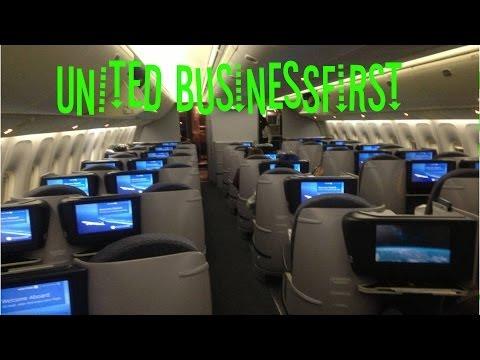Dantorp Review | United BusinessFirst 767-400 EWR-FRA UA50